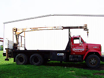 1982 Brigidadier GMC Truck and National 200 Crane